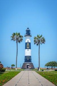 La Marina Lighthouse - Lima, Peru