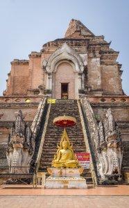 Wat Chedi Luang - Chiang Mai, Thailand