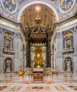 Baldacchino di San Pietro - Vatican City, Italy