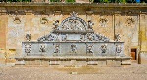 Foutnain at La Alhambra - Granada, Spain
