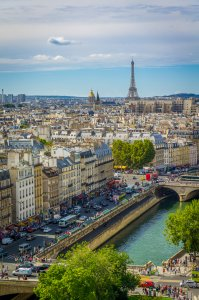 View from Notre-Dame - Paris, France