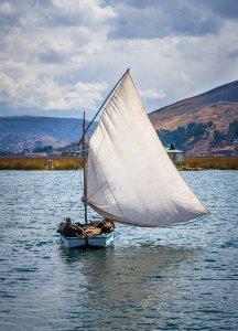 Sailor on Lake Titicaca - Puno, Peru