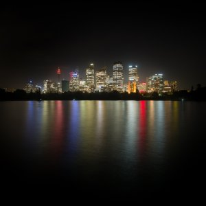 Sydney skyline at night - Sydney, Australia