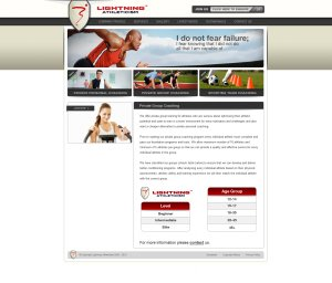 Lightning Athleticism Website